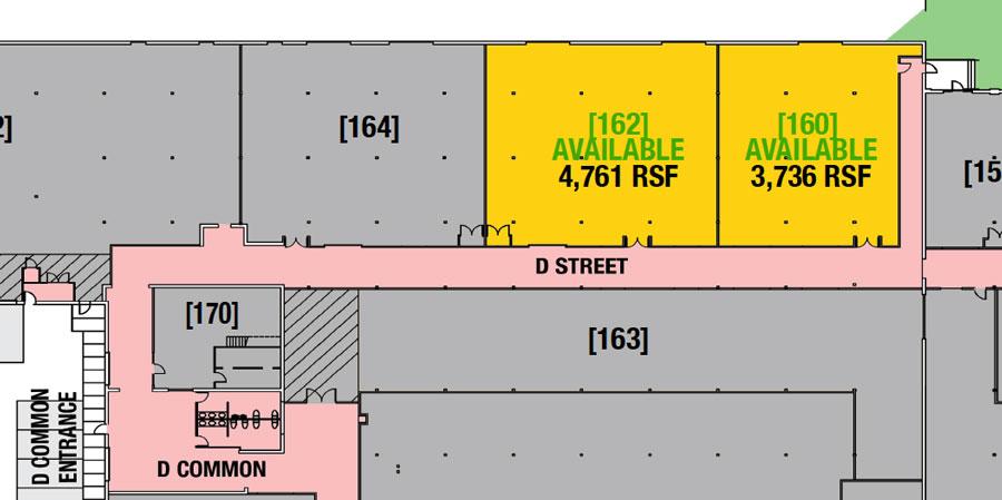 SUITE 162 - 4,761 RSF