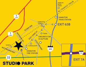 Studio Park map