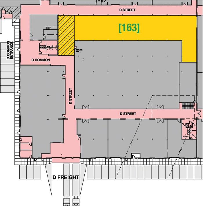 SUITE 163 - 7,737 RSF
