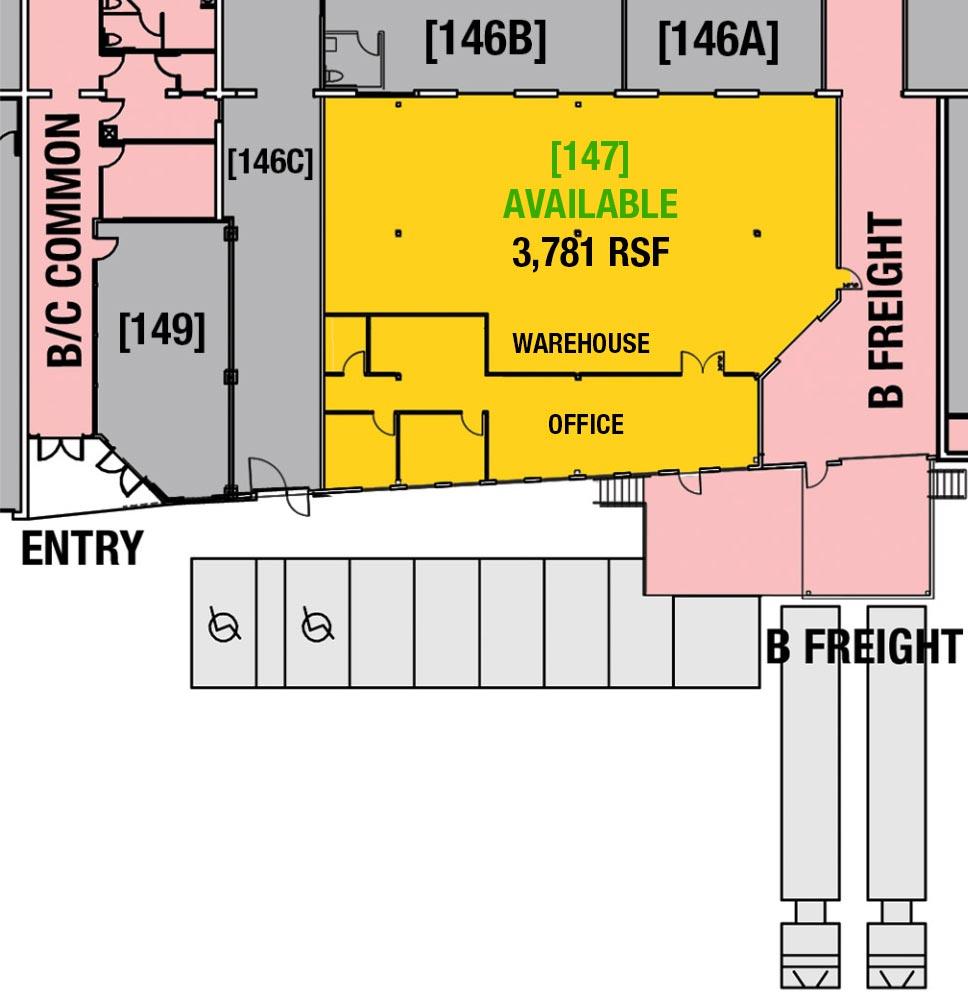 SUITE 147 - 3,781 RSF