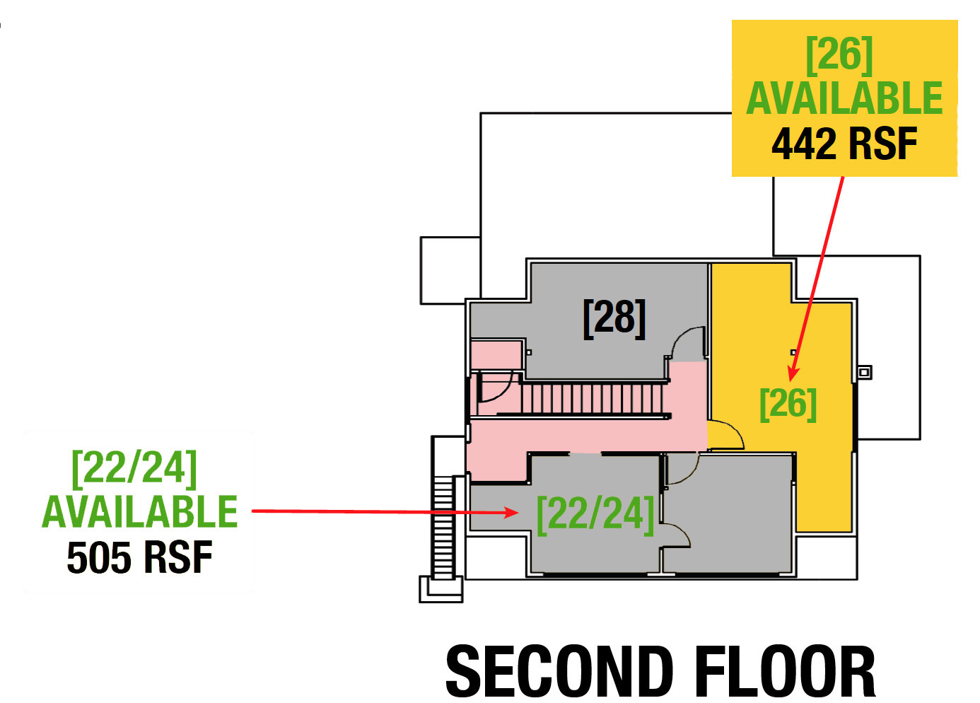 SUITE 134 - 2,636 SF
