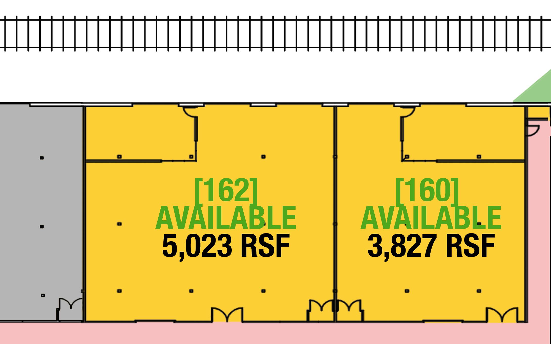 SUITE 160 - 3,736 RSF
