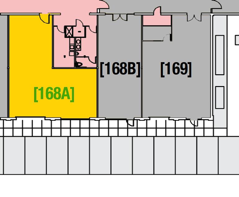 SUITE 168B - 1,090 RSF