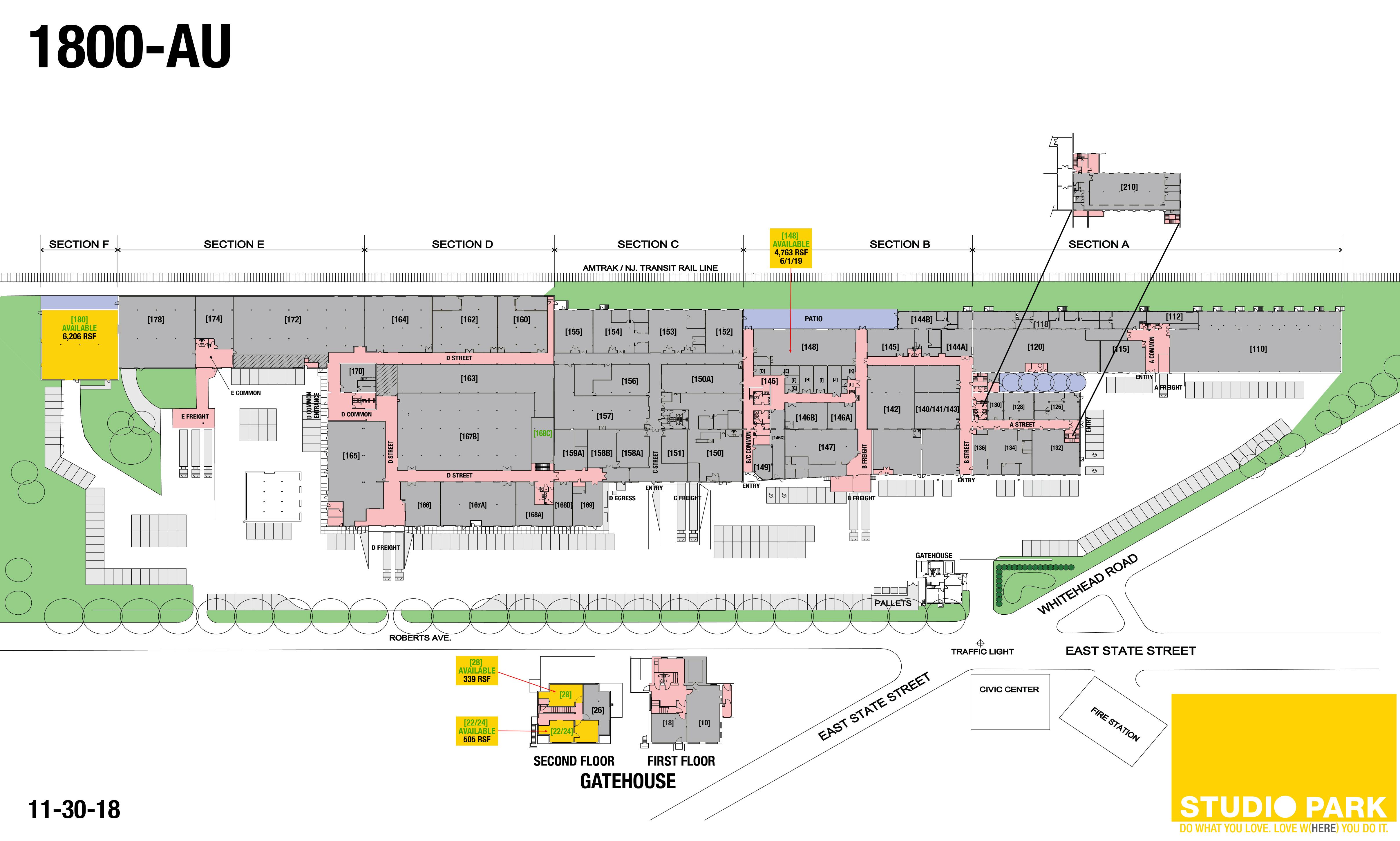 Studio Park floor plan - 12-13-17