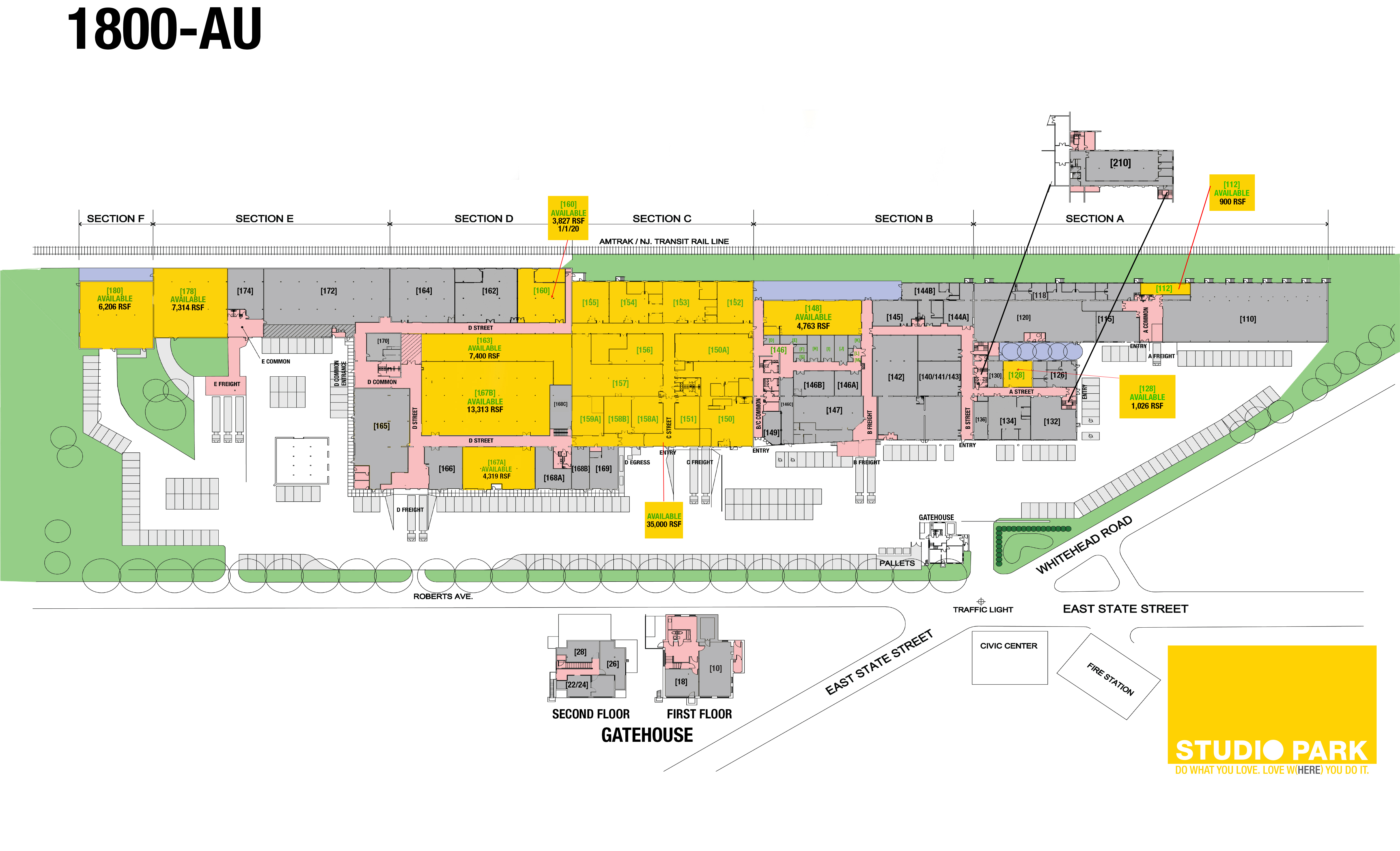 Studio Park floor plan - 12-13-17