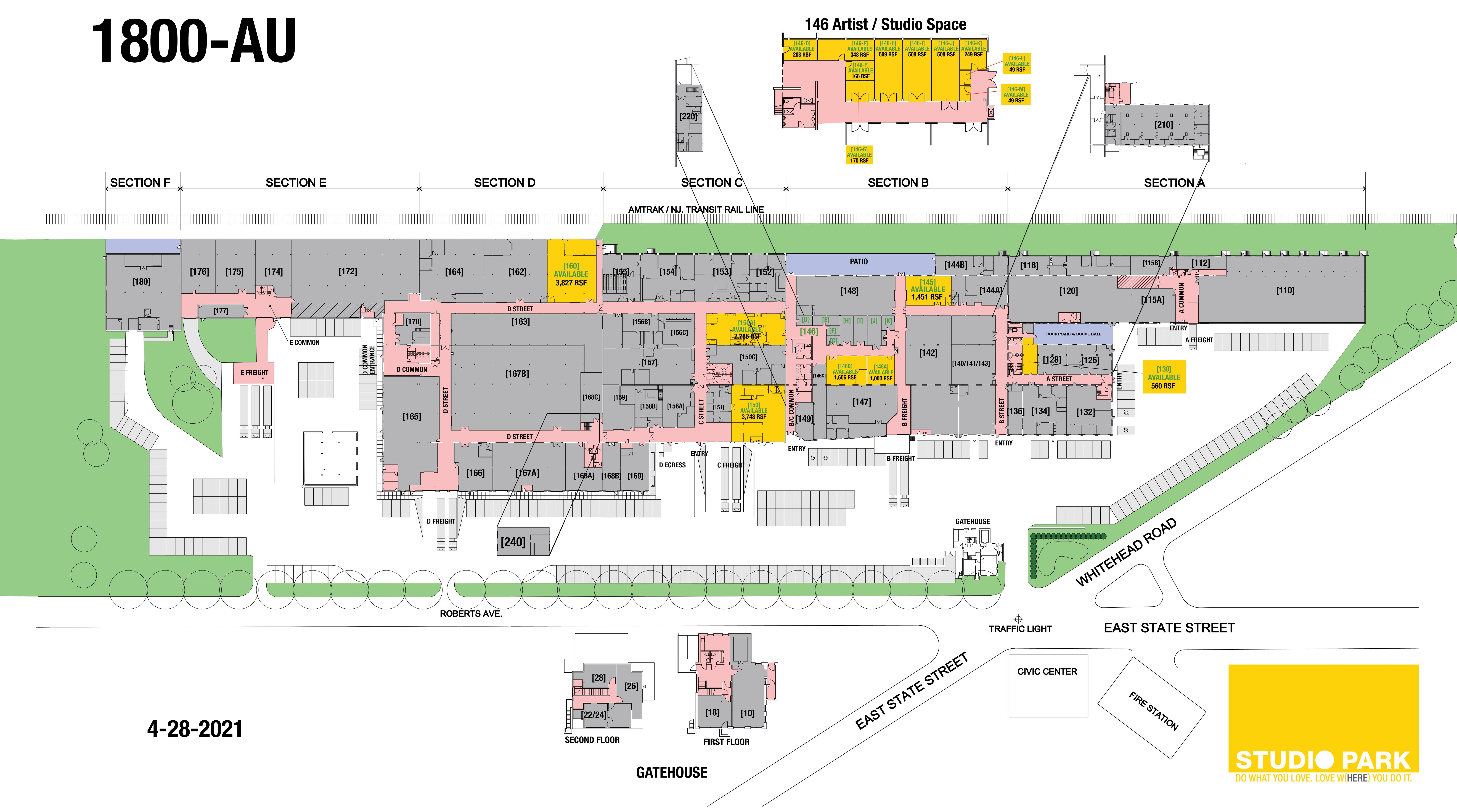 Studio Park floor plan